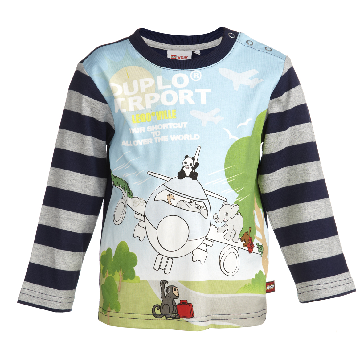 LEGOkläder - LEGO Wear Duplo långärmad t-shirt TINO 605 - Bokextra dfd1cdc54fbd8