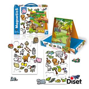 Leksaker - Magnettavla med djur - Bondgård - Bokextra 9744574f3d8d4