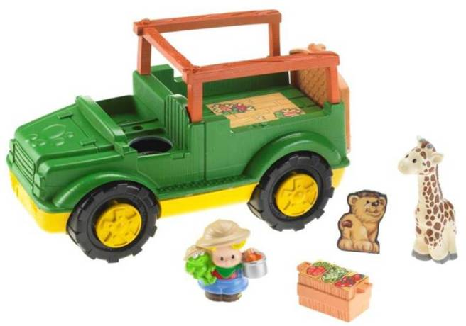 Leksaker - Fisher Price Safari jeep med djur W1711 - Bokextra e3d6801f49cc6