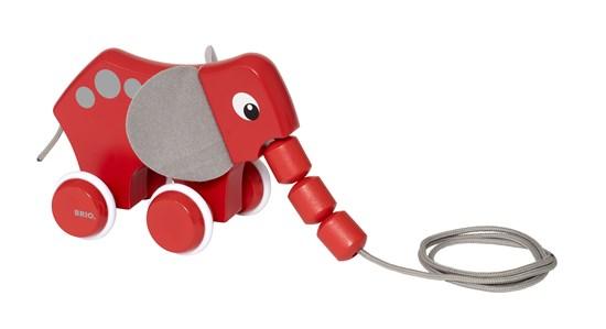 Leksaker - BRIO Dragleksak elefant 30186 - Bokextra 1c1fd3caeb6d8