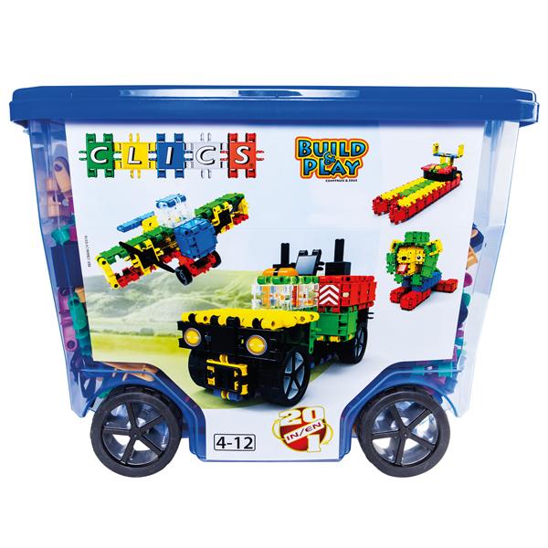 Leksaker - Clics Rollerbox 560 0024 - Bokextra dcc832409b10a
